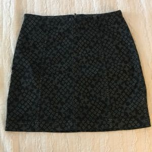 Free People panel mini skirt